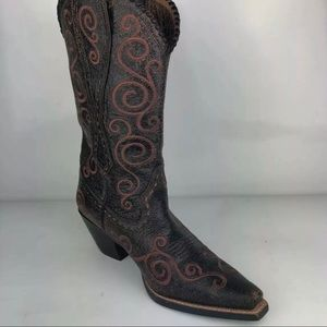 Womens Ariat Pull Womens Cowboy Boots  6.5 Medium